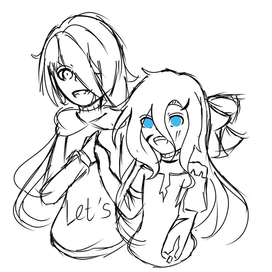 Kasai and Lucy by LamKarla