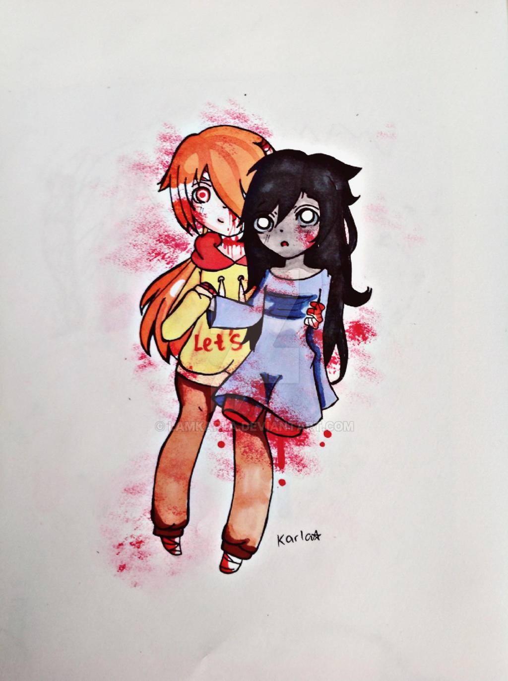 Kasai and Elizabeth by LamKarla