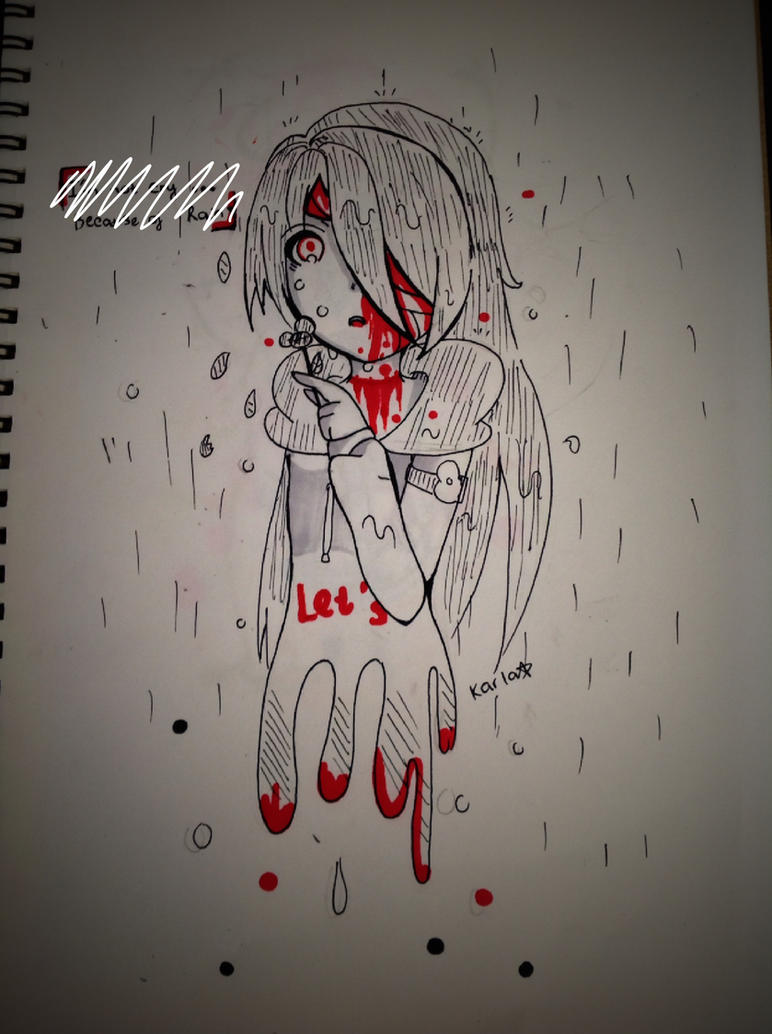 [ Kasai ] I don't cry...Because of rain by LamKarla