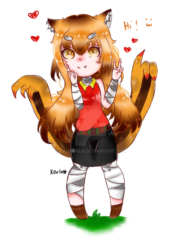 Fox Girl by LamKarla