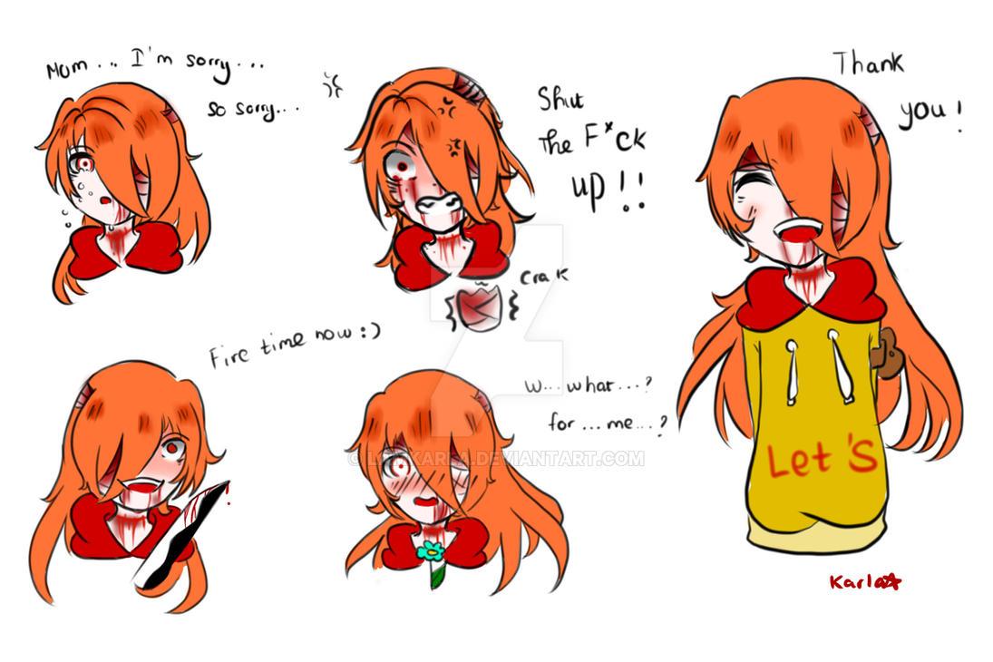 Kasai's Emotions by LamKarla