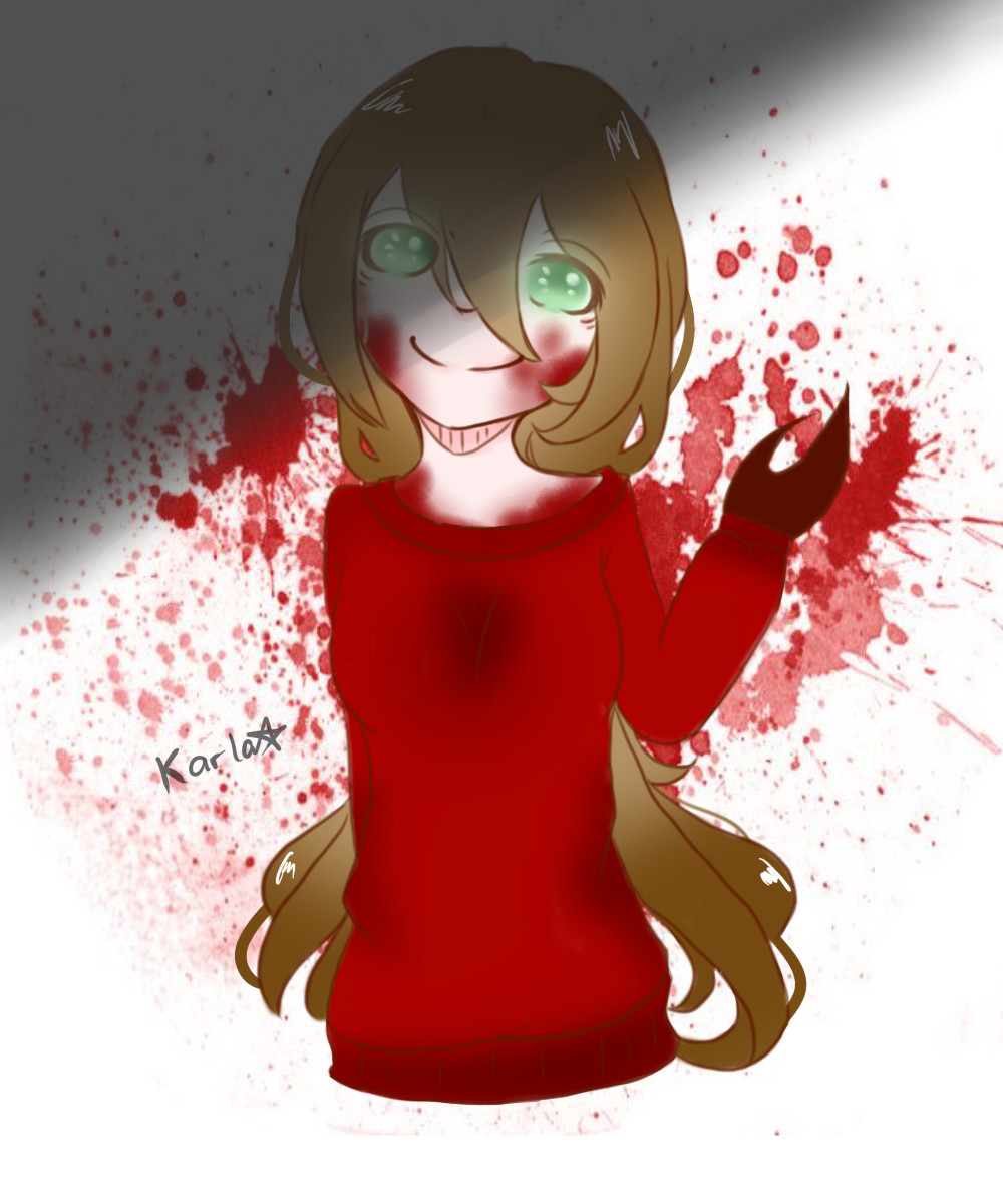 [ART TRADE] Cherry the Weapon by LamKarla