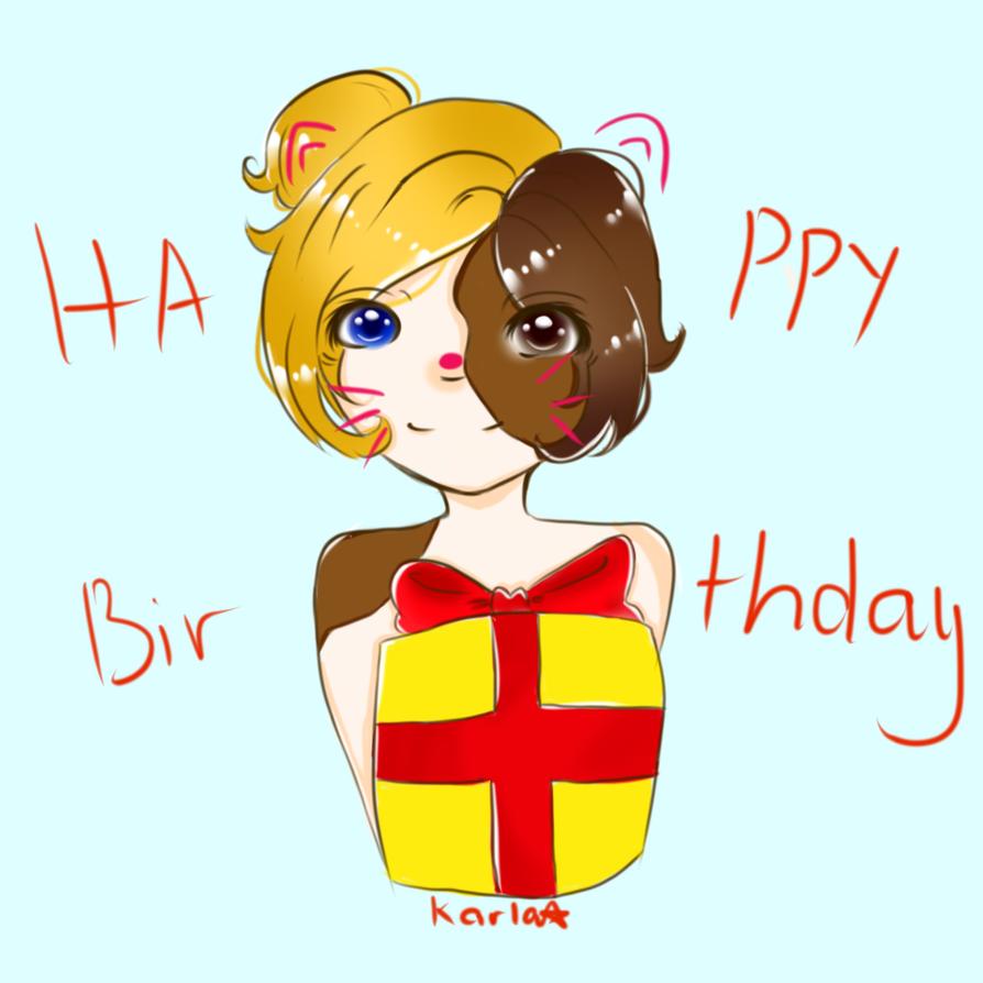 HAPPY BIRTHDAY !!!! by LamKarla