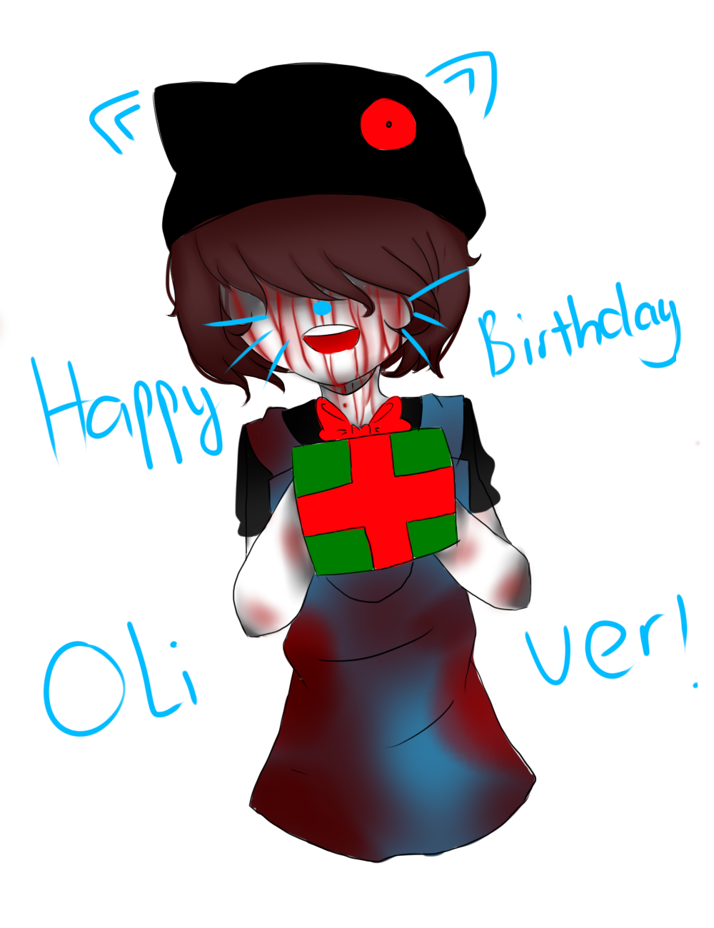 HAPPY BIRTHDAY OLIVER (LATE !! VERY VERY LATE ) by LamKarla