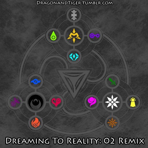 Dreaming To Reality: 02 Remix - The Crest Mural by yukidragon