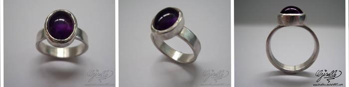 Amethyst Ring by TrueLiez