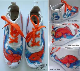 Koi Shoes by TrueLiez