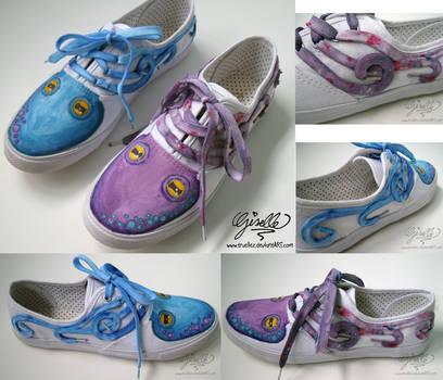 Octopus Shoes by TrueLiez