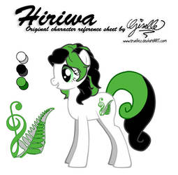 Hiriwa Character Ref Sheet