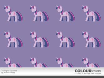 Colour Lovers: Twilight Sparkle by TrueLiez