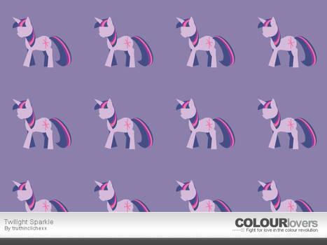 Colour Lovers: Twilight Sparkle
