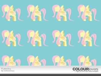 Colour Lovers: Fluttershy by TrueLiez