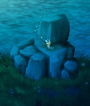 the same stone but with a fairy