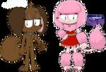 Marael umeza and cashmere Ramada (cartoon style)