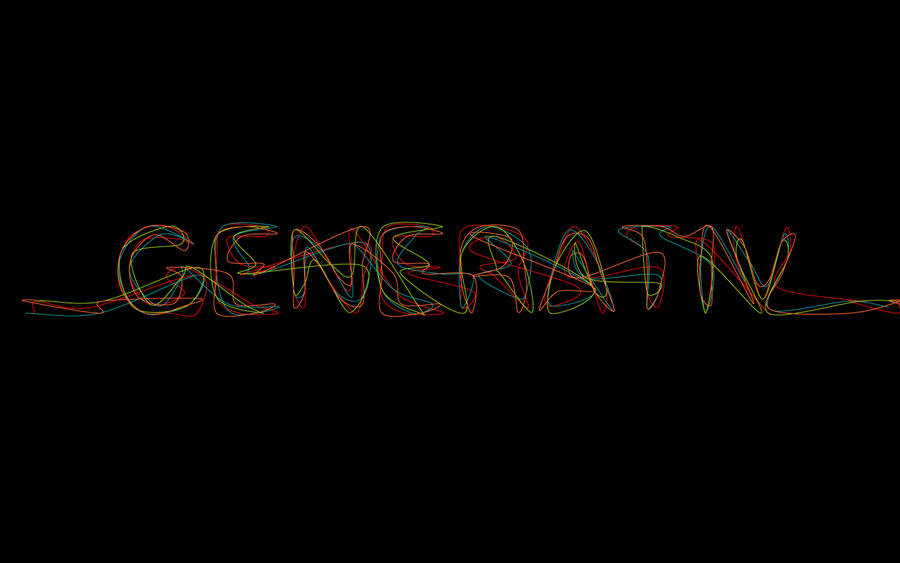 Generativ Typography by ~The-Student