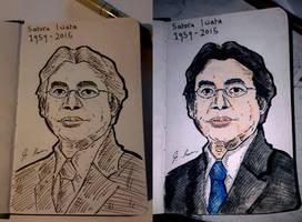 Satoru Iwata by Xanxark