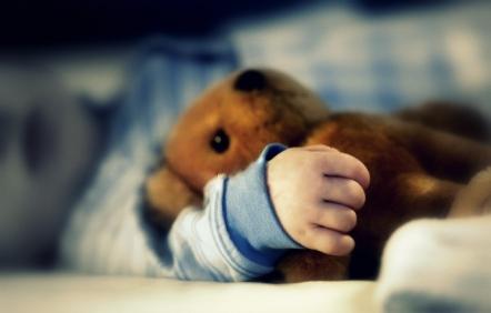 Sleeping Boy With Teddy Bear By MissCrazyAtic