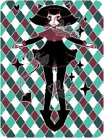 + pixel monster + by decollavit
