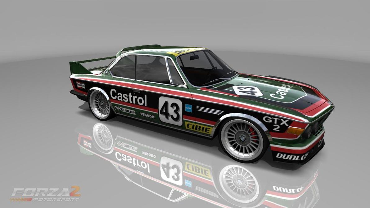 1971 BMW 3.0 CSL Race Car by MajorBlazkowicz on DeviantArt