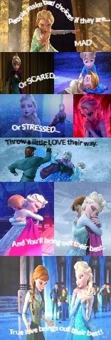 Fixer Upper: Anna and Elsa