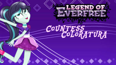 Countess: Legend Of Everfree transformation by violetteraMLP