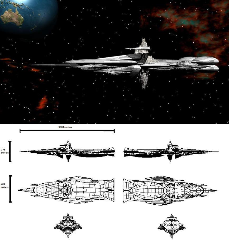 Starship EVE by tat2tiger