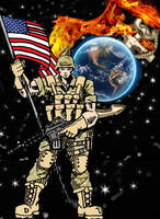 USMC 9 11 by tat2tiger
