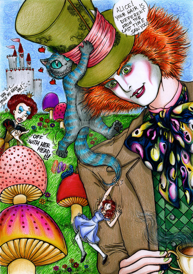 Not 'The' Alice In Wonderland by Tatmione