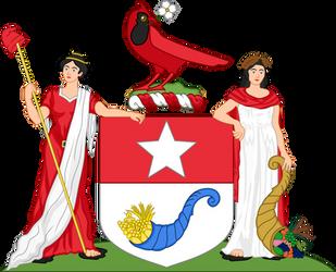 Coat of arms design for North Carolina
