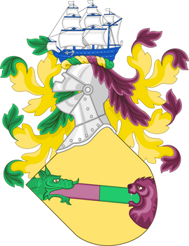 Coat of arms for a Discord server