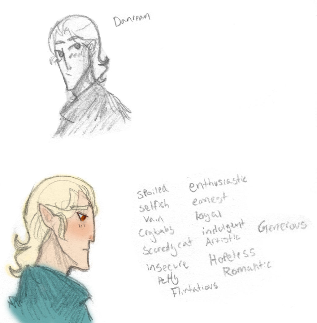 Serpants of Old Fan character - Danrean