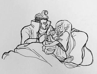 Papa Gundham AU - Firstborn Homunculus