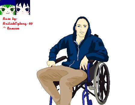 I Have Cripping Depression - Base by BritishCyborg-69