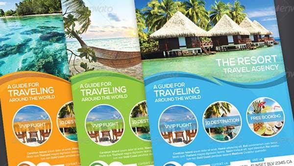 35+ Best Travel Brochure Agency Templates by vectorarea on DeviantArt