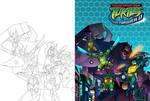 TMNT: FF Season 2 DVD Cover Colors