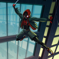 Spiderman: Into the Spiderverse by Nexxorcist
