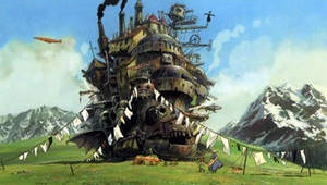 Howl's Moving Castle by suzume2
