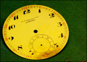 Dial of Eterna Pocketwatch by Tapola