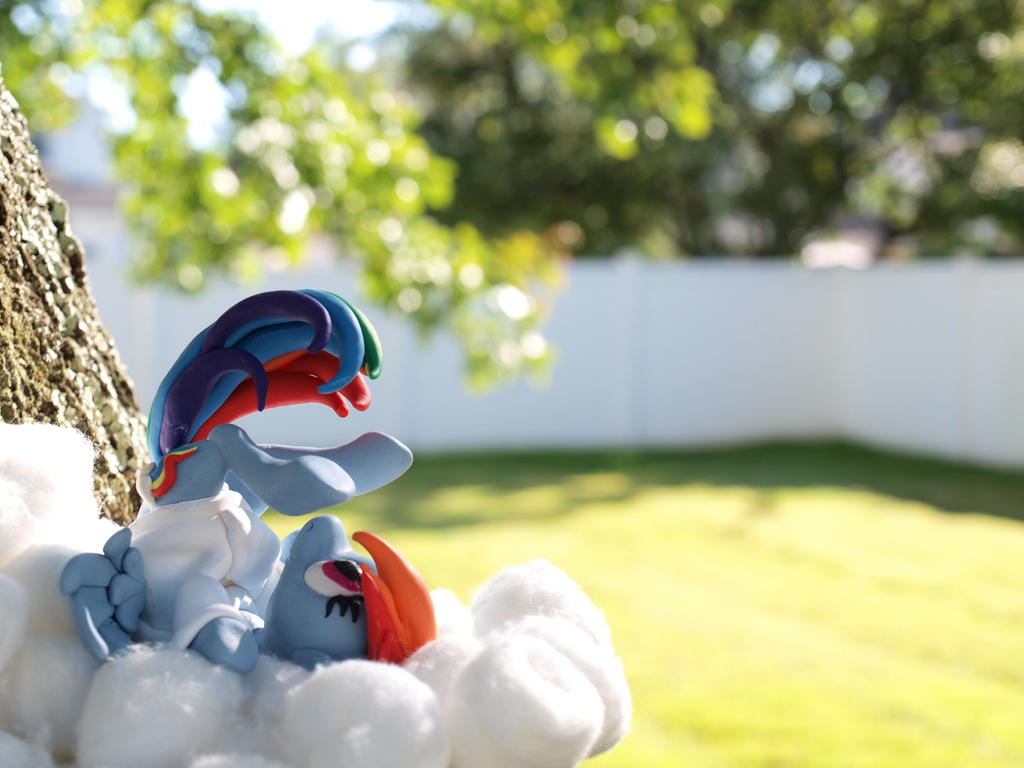 On Cloud Nine 1 by dustysculptures