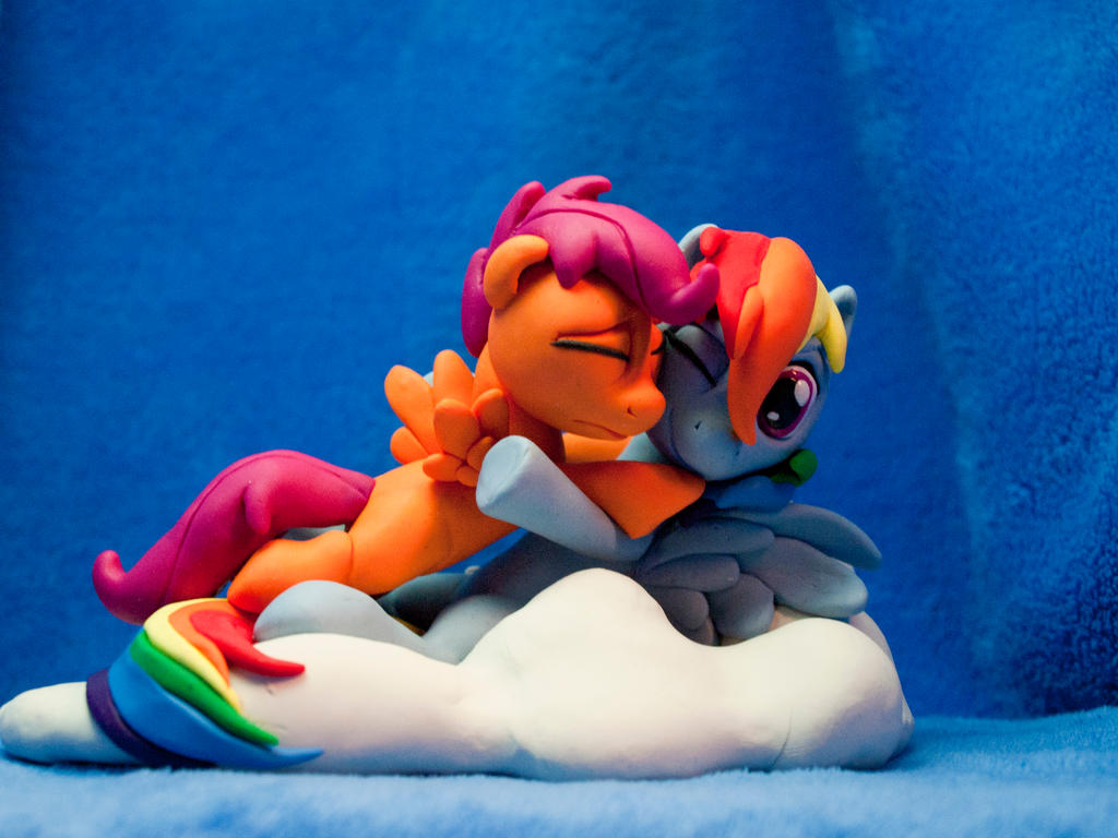 :Commission: Always there for me 1 by dustysculptures