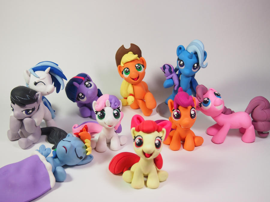 Featured @Bronycon [Filly ed.] by dustysculptures
