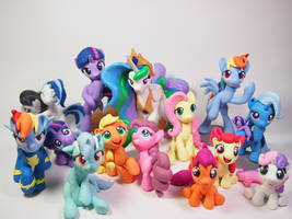 Featured @Bronycon by dustysculptures