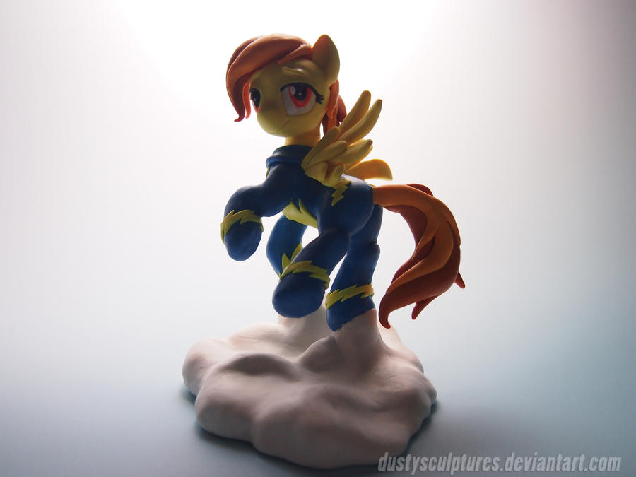 Soaring among the clouds by dustysculptures