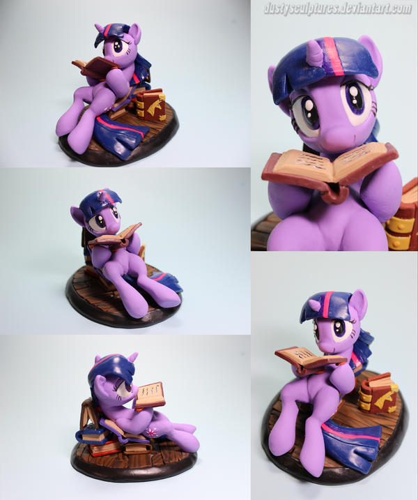 Study Time! Twilight by dustysculptures