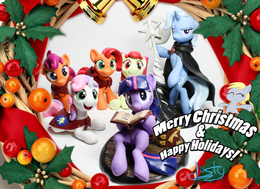 Happy Holidays 2012 by dustysculptures