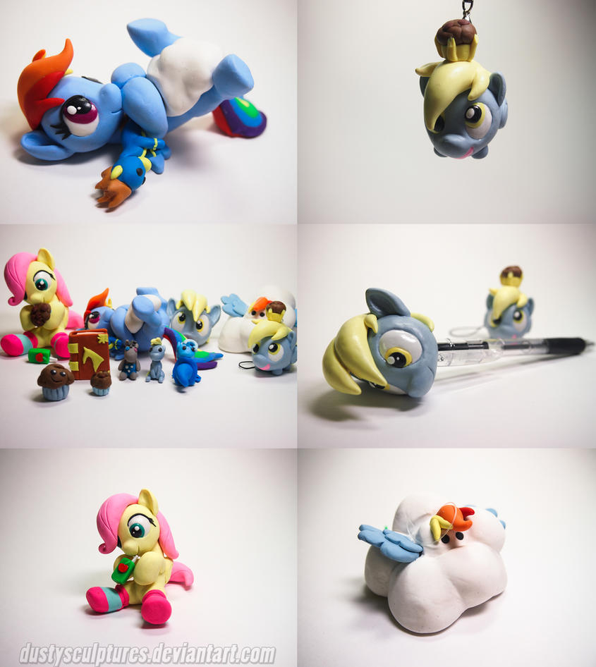 :Commission: Grabbag Galore by dustysculptures