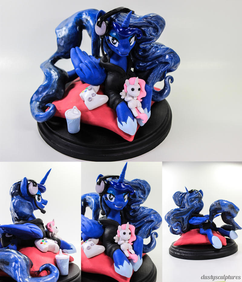 :Commission: Game On by dustysculptures