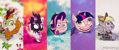 Charm Faces galore! (Now on sale)