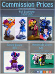 Commission prices 2019 by dustysculptures