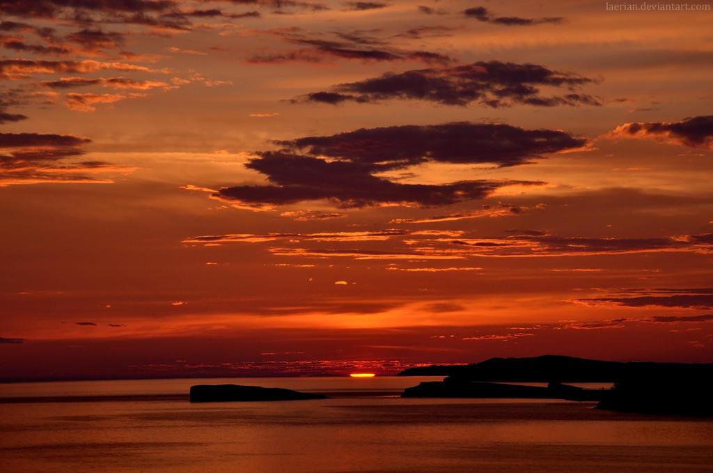 Sunrise on the Shamanic Lands by Laerian